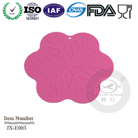 snowflake shape silicone mat --Judy