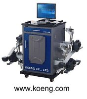 Wheel alignment with 8 CCD image sensors KWA300