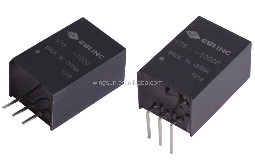 V7805-<strong>1000</strong> CUI Inc. 5V 1A high efficiency DC/DC Converters SWITCHING REGULATOR voltage regulator dc transformer
