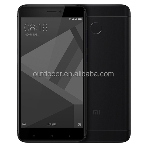 Drop shipping original & new Xiaomi Redmi 4X 4GB RAM 64GB ROM Fingerprint Identification xiaomi smartphone 2G 3G 4G