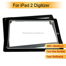 High Quality For Apple iPad Wholesale For iPad 2 Digitizer, For iPad 2 Touch Screen Replacement