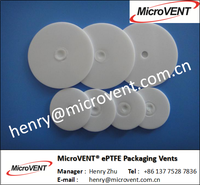< MicroVENT> Breathable Packaging Vents HDPE Bottle Airflow Aluminum Cap Liner Induction PE Vent Seal Liner