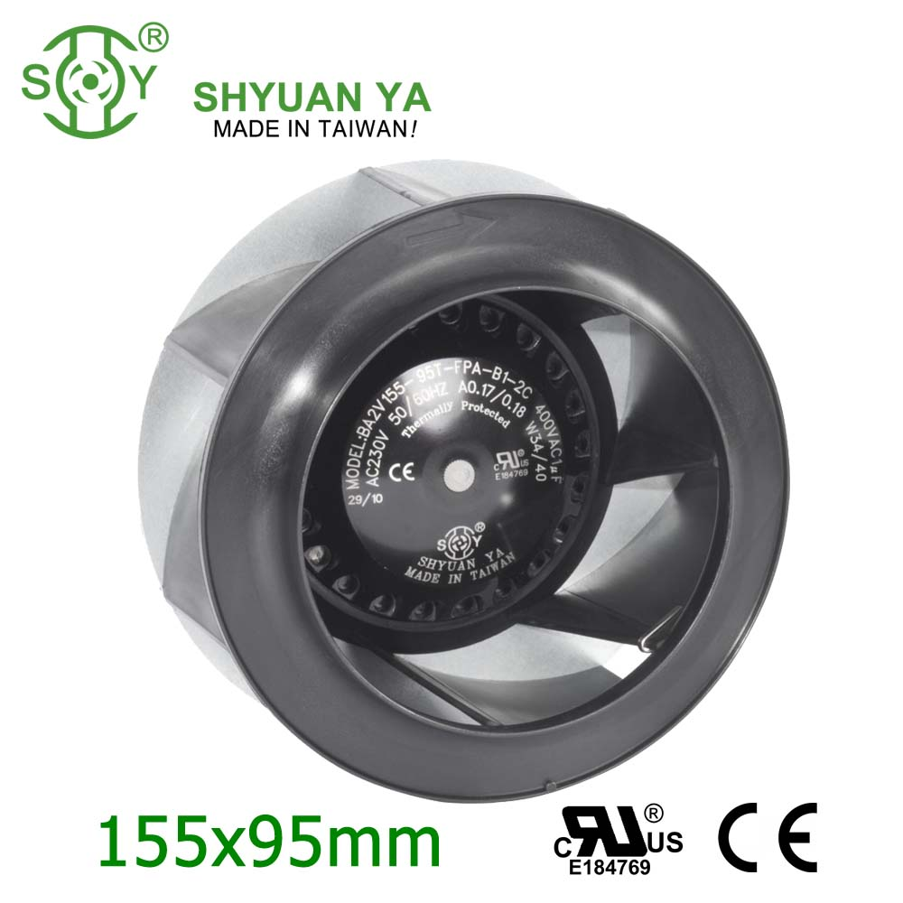 Power Station Free Standing Small AC Miniature Low Pressure Centrifugal Fan