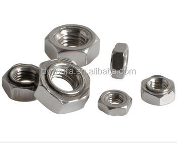 DIN929 Stainless Steel Hexagon weld nuts