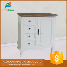 Attractive solid wooden shoe cabinet