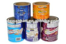 Roll stock film for automatic packaging machine