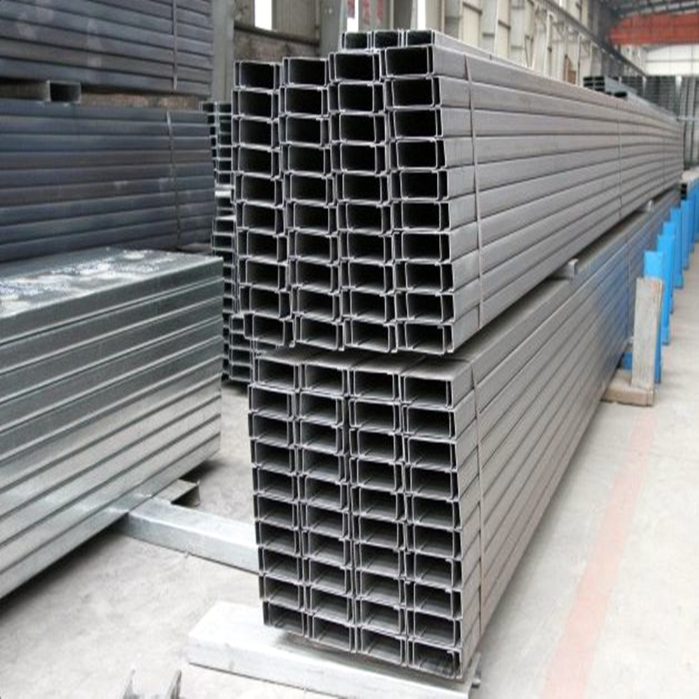 Q195, Q235, Q345 c type channel steel purlin/c beam steel/galvanized c steel purlin wholesale price from China manufacturer