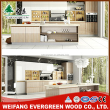Hot Sale Pvc Hanging Kitchen Cabinet Design