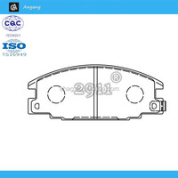 AG-BK0135 Hot Sale Auto Brake Pad Set for Ford / Honda /Opel / Vauxhall