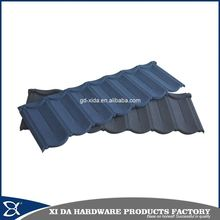 High strength anticorrosion fireproof insulated waterproof color stone coated metal roofing tile
