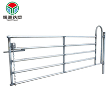 Good price dairy cow cattle gate temporary horse cheap sheet metal fence panels