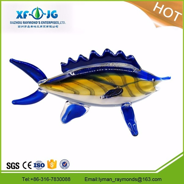 Murano glass fish crafts for home decoration