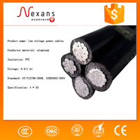 Aluminum Conductor low voltage Overhead ABC Amka cable