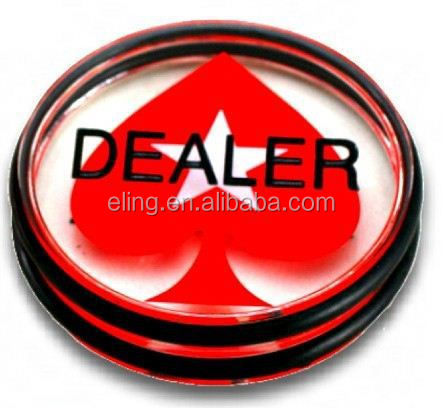 Big Blind\Small Blind Dealer Button ring snap button for children's clothing