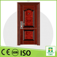 Steel entrance door with stainless doorsill popular in Egypt