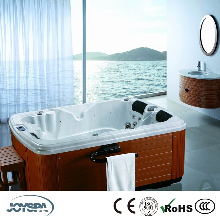 An Multifunction Two Person Outdoor Spa Bathtub for Small Family JY8013