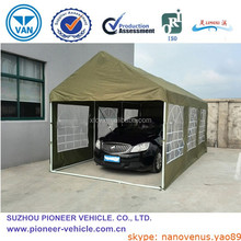 Outdoor folding car tent, Instant canvas car shelter(ISO Approved)