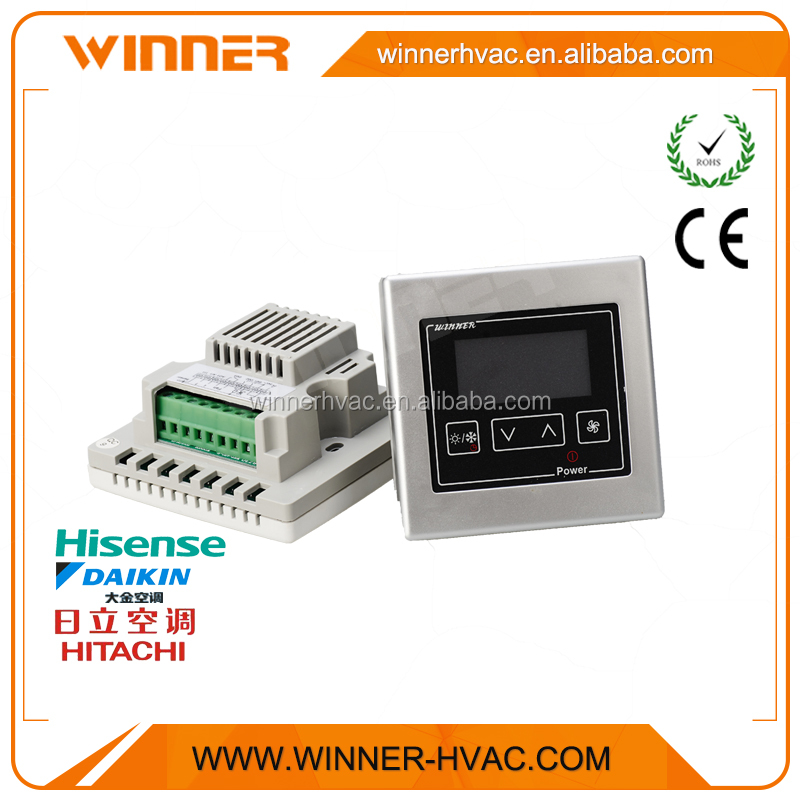 Fan Coil Controller Digital Programmable Room Thermostat