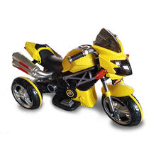 Factory wholesale kids electric motorbike 3 wheel for kids