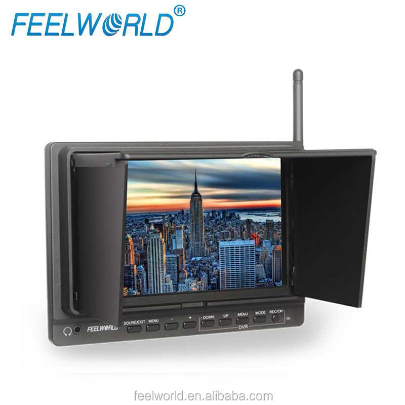 7 inch 32CH 5.8GHz Wireless dvr with built-in lcd monitor