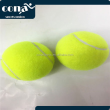 2017 Wholesale Cheap Economic Offical Size And Weighted Printing Logo trainning Tennis Ball