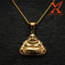 Stainless Steel Buddha Pendant Gold Plated Quantum Pendant Price In India Diffuser pendant