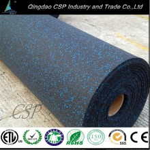 High quality cheap absorb noise rubber made product gym rubber flooring