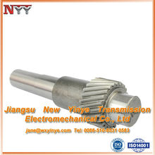 Lifting accessories gear shaft