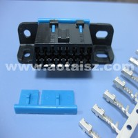 GM CAR female plug obd ii connector with terminal for dianostic tool