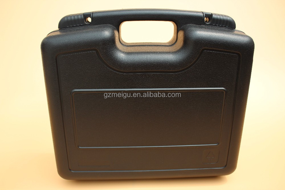 ABS black lockable alluminium hard plastic tool case_12400396