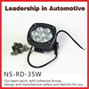 Auto 9-32v 35W led work lamp, oval led tractor work light