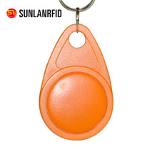 Active rfid hotel room key tag 125khz TK4100 T5577 EM4200 chip ABS contactless RFID Keyfob for access control system