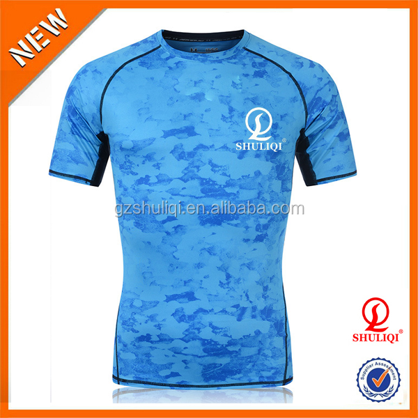 Wholesale gym clothing/gym wear men's t shirt china factory H-1280