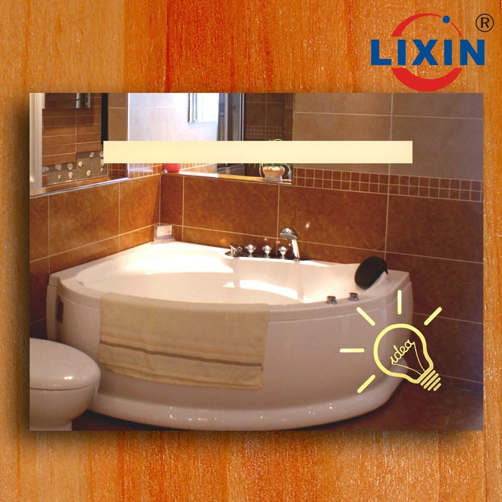 Miroir salle de bains r tro clair miroir pour salle de for Ecran salle de bain