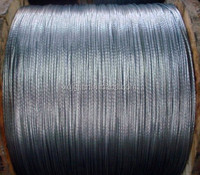 Galvanised Stay Wire/Guy Wire/Steel Wire Strand for Overhead Power Lines Equipment