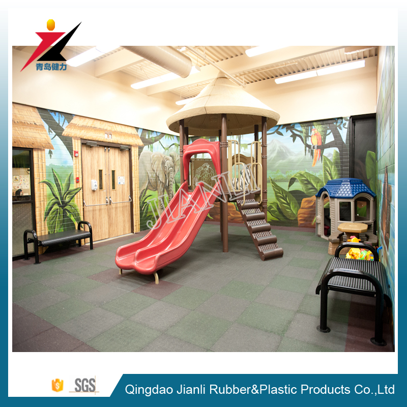 2016 indoor outdoor safety rubber gym flooring playground flooring