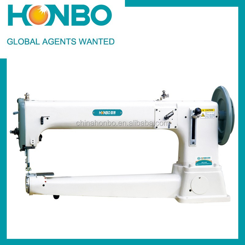 HB-446 Comprehensive Feeding Long Arm Drum Type Extremely Thick Material Flat Seaming Machine