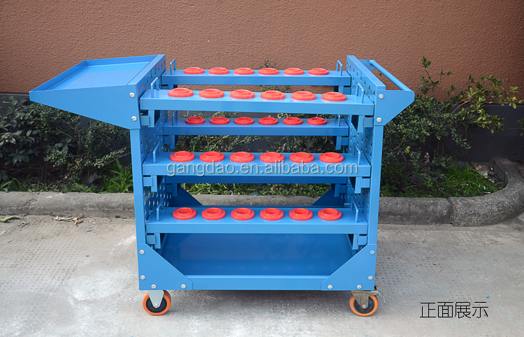 Hot selling workshop car repaire cnc tool trolley with HSK holder