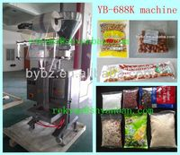 10g to 1kg Granule Back Sealing Packing Machine with PLC controller / 0086-13916983251