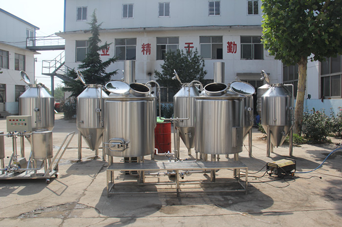 40HL beer manufacturing plant for brewery