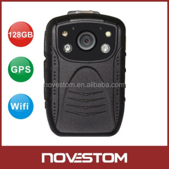 1080P full HD NVST Portable police video body worn camera for iOS and Android movie System view