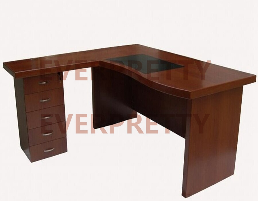 Large Modern Executive Solid Wood Office Desk View Large Executive Desk Eve