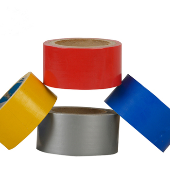 Strong adhesive colored custom printed duct tape