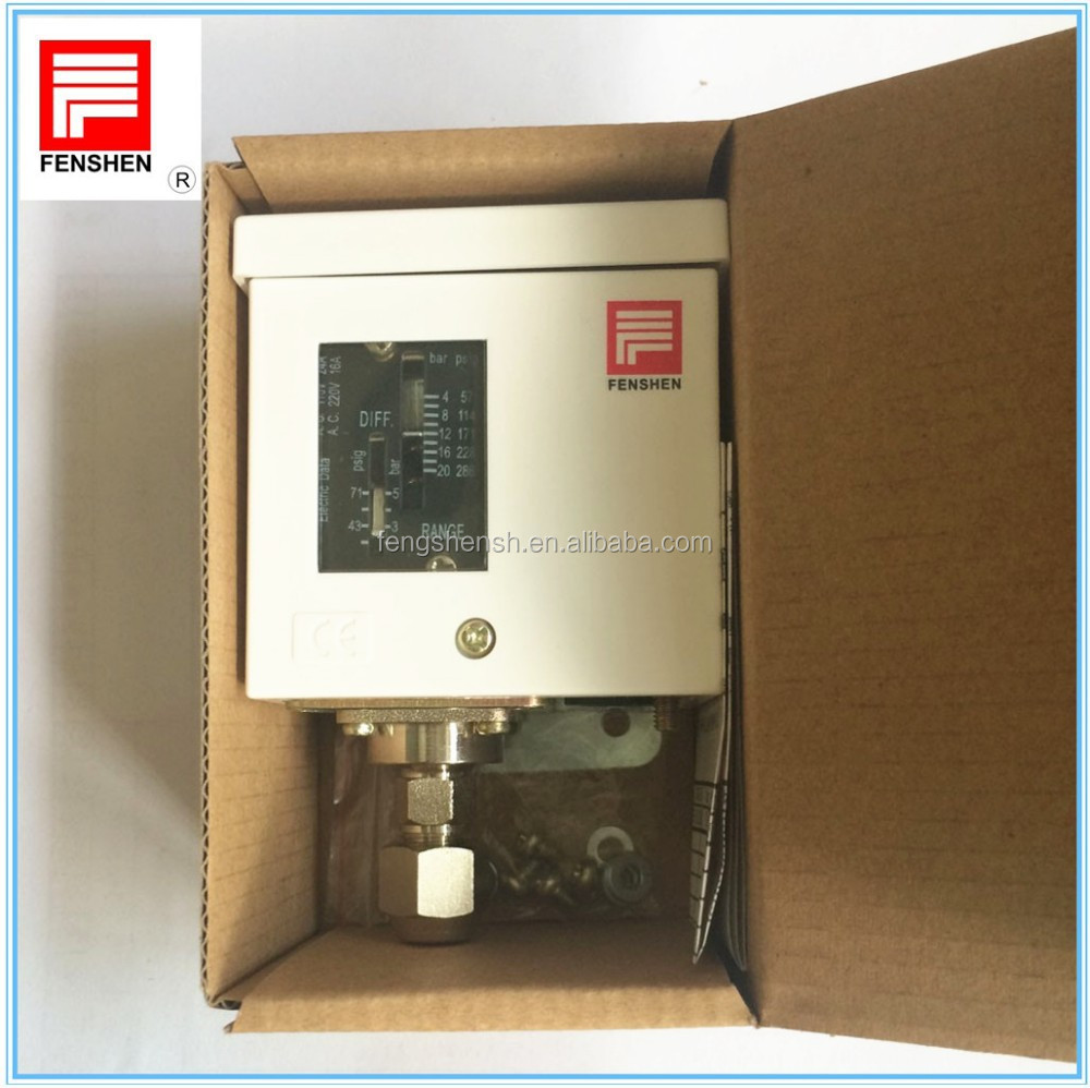 refrigeration pressure switch