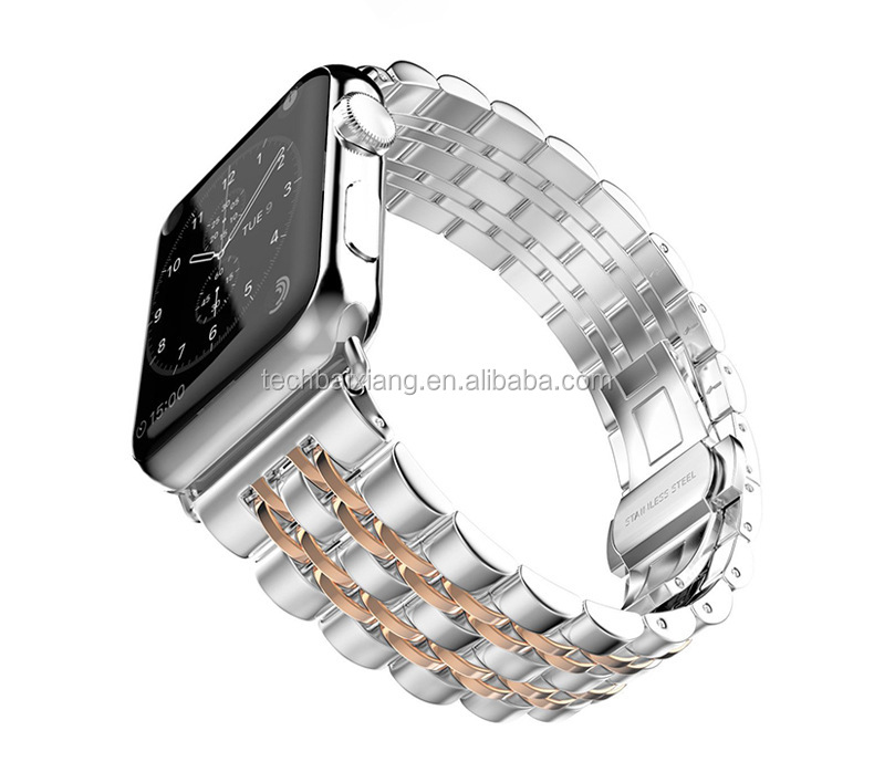 For rose gold apple watch band metal watch bands for apple watch wristbands