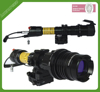 M16 rifle used subzero long distance aiming high powered zoomable green laser sight