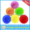 eco-friendly Silicone cup cake cases