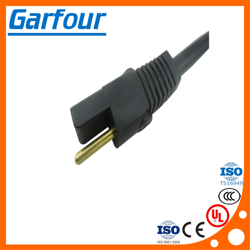 high quality 2pin home appliance plug power cable