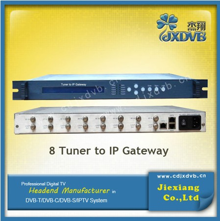 Tuner to IP digital gateway