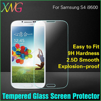 Explosion-proof 0.33MM Premium Anti-scratch Galaxy S4 Tempered Glass Film for SAMSUNG SIV i9500 Screen Protector